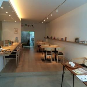 cafe141店内